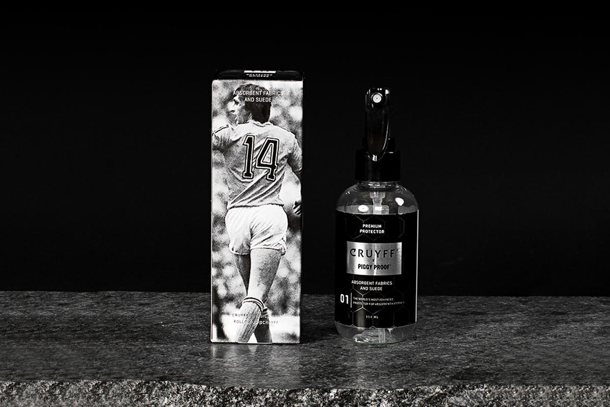 Cruyff – Photography & Packaging design