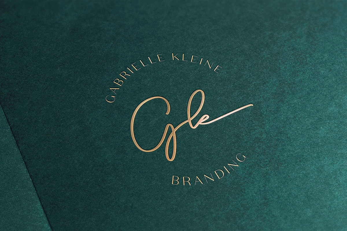 Visual identity for Gabrielle Kleine, Your all-in marketing expert